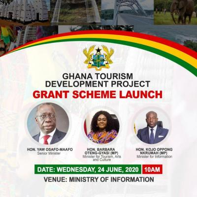 THE LAUNCH OF USD 9MILLION GRANTS FOR TOURISM SMALL AND MEDIUM ENTERPRISE (SME)